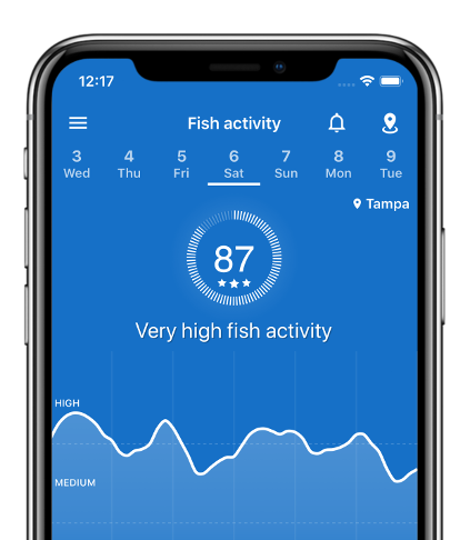 Fishing Points Android & iPhone app - Fishing forecast & GPS navigation